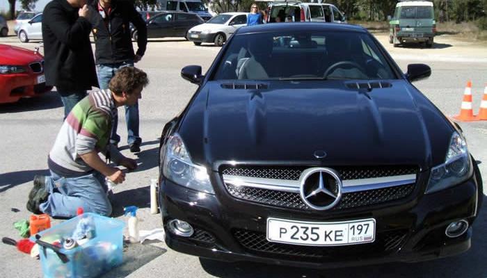 Mercedes, Allianz, Precision Driver