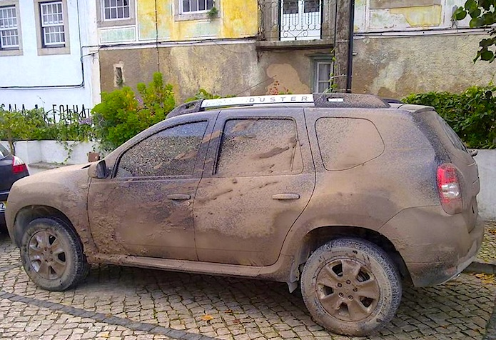 Dacia Duster with Precision Driver