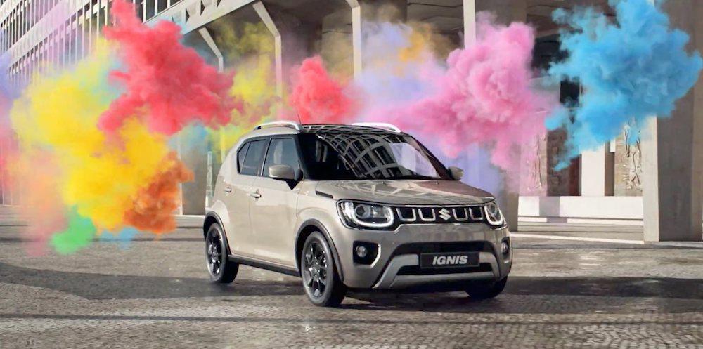 Suzuki Ignis Hybrid 2020, explosions